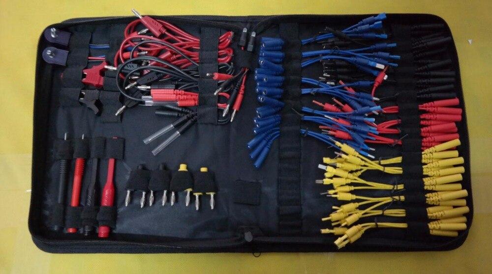 Circuito multifunzione Test di Cablaggio Accessori Kit Cavi Si Applica a qualsiasi Automotive Multimetro di buona qualità