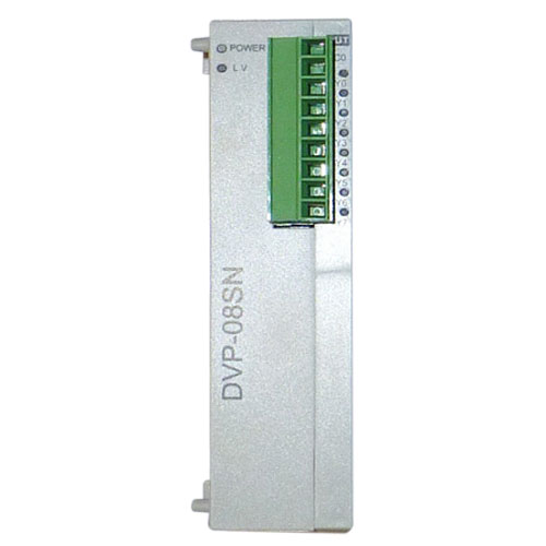 DVP08SN11R Original Brand New Delta S Series PLC Digital Module DO 8 Relay 1 Year Warranty new original delta dvp06sn11r dc24v plc 6do relay module
