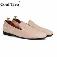 Стильные мужские туфли TIRO из кожи с черным бархатным ремешком; модные вечерние и свадебные мужские лоферы; повседневная мужская обувь без ш