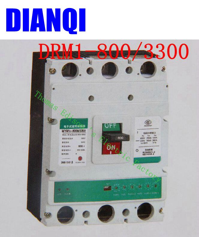 цена на CM1-800/3300 MCCB 630A 800A molded case circuit breaker CM1-800 Moulded Case Circuit Breaker