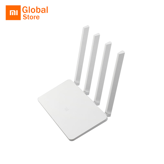 Global Version! Original Xiaomi Mi WIFI Router 3C 64 RAM 802.11N 2.4G 300Mbps Smart APP Control Band Wireless Routers Repetidor