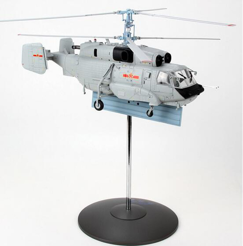 1/43 Scale Ka-31 Helix Early Warning Helicopter Aircraft Airplane Static Models Adult Children Toys Military