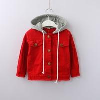 Kids Hooded Cotton Jacket Unisex Long Sleeve Children Wholesale Lots Bulk Clothes Toddler Boy Girl Casual Cotton Outdoor Coat