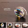 3D jewelry Nail Art 10pc/lot Glitter Rhinestones 3d rhinestones flatback Art Decorations Alloy Nail Charms Jewelry