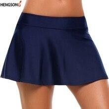 Женские теннисные юбки, спортивные, высокая талия, короткие, для бадминтона, волейбола, бега, пляжа, тенниса, женский спортивный костюм, спортивная одежда