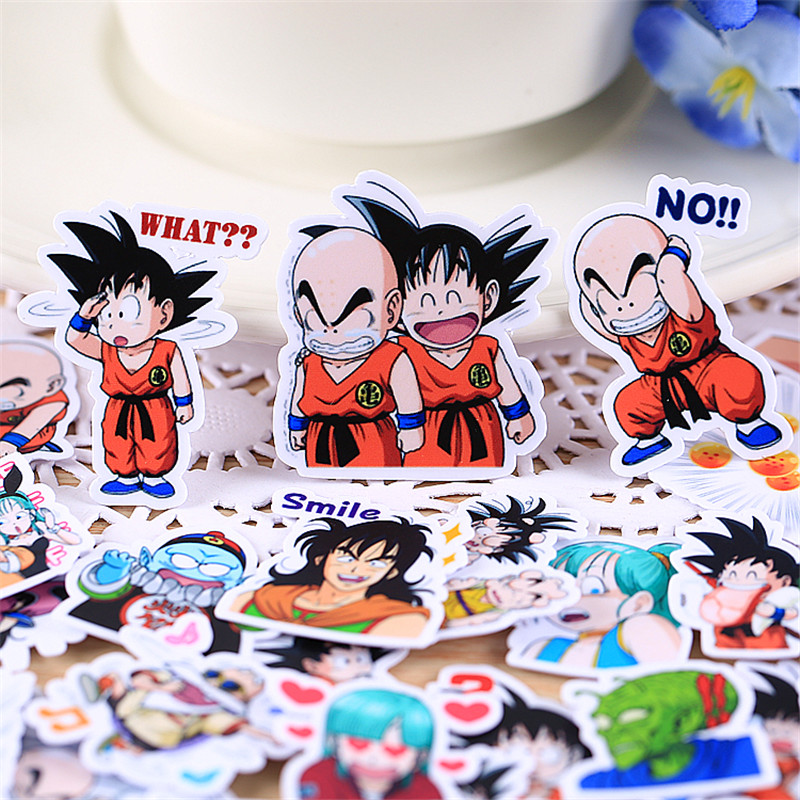 40 Pcs Kung Fu Kid Sticker Anime Funny Scrapbooking Stickers For Kid DIY Laptop Suitcase Skateboard Moto Bicycle Car Toy
