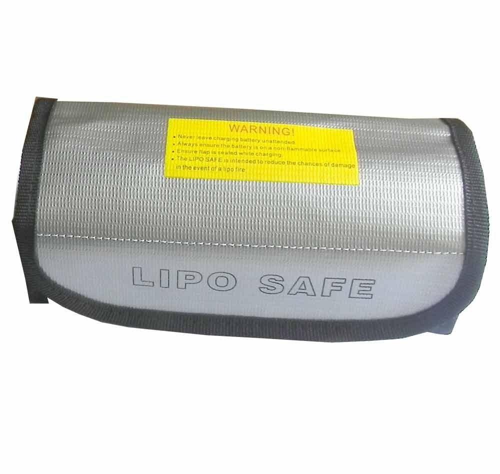 185*75*60mm Lipo Battery Safety Bag Lipo Guard Bag Charge Sack Battery Protection Bag for LiPo Battery Charging morpilot 2pcs 11 1v 3s 6300mah 4k 10c lipo battery for yuneec typhoon q500 q500 4k high performance with charging protection