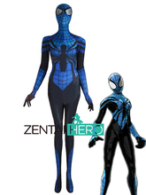 3D Printed NEW Amazing Spider Girl April Parker Cosplay Costum Female Spider man Costume Fancy Dress
