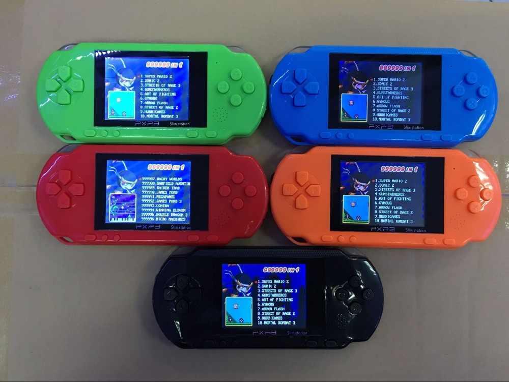Новинка 16 бит портативная игровая консоль портативная видеоигра 200 + игры ретро Megadrive PXP3