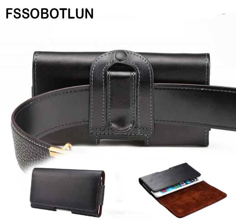 FSSOBOTLUN, Pour Sony Xperia XZ1 Compact/XZs/E5/X/X Compact/X Performance Téléphone cas En Cuir de Couverture de Cas Clip Ceinture Étuis Sac