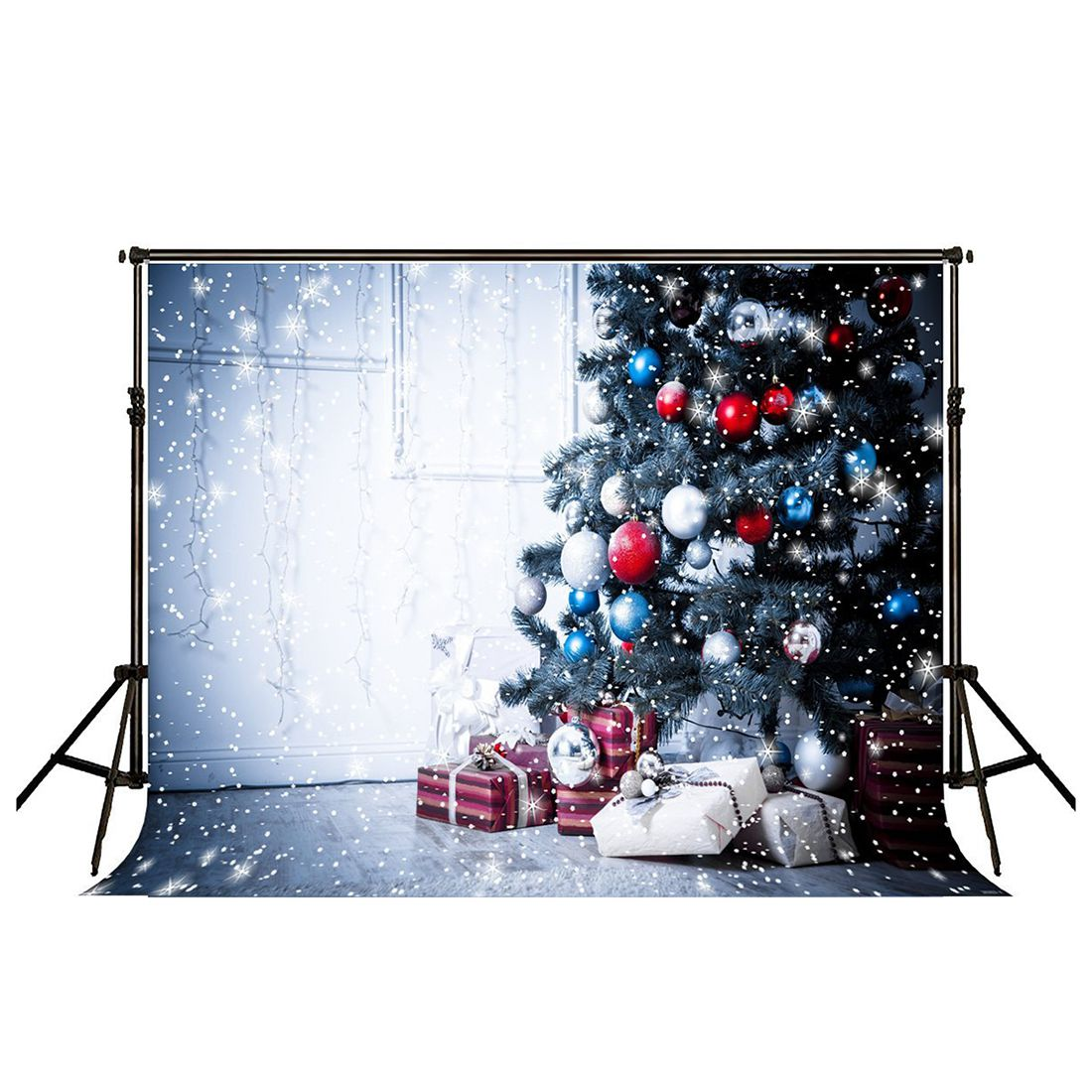 EDT-7x5ft Christmas Photography Backdrops Christmas Decoration energizing w edt spr