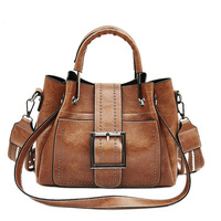 7b62f999f723b Vintage Women Shoulder Bag Female Luxury Brand Totes Messenger Shopping All  Purpose PU Leather Big Bag