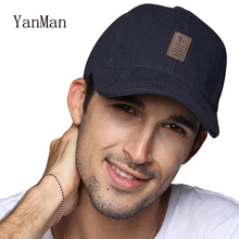 YanMan 2017 New Baseball Cap Men Women Fashion Cotton Snapback Cap Casual Casquette Sun Hat For Golf(China)