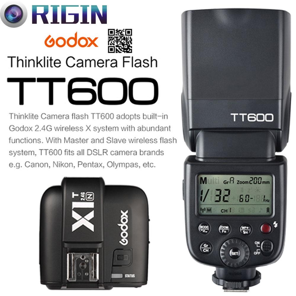 Godox TT600 / TT600S GN60 HSS 1 / 8000s Speedlite 2.4G Simsiz X - Kamera və foto - Fotoqrafiya 2
