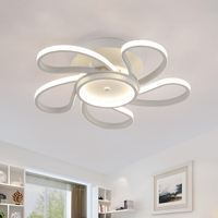 Factory Outlet Minimalism Modern LED Ceiling Lights Lamparas De Techo Creative Ceiling Lamp Bedroom Living Room