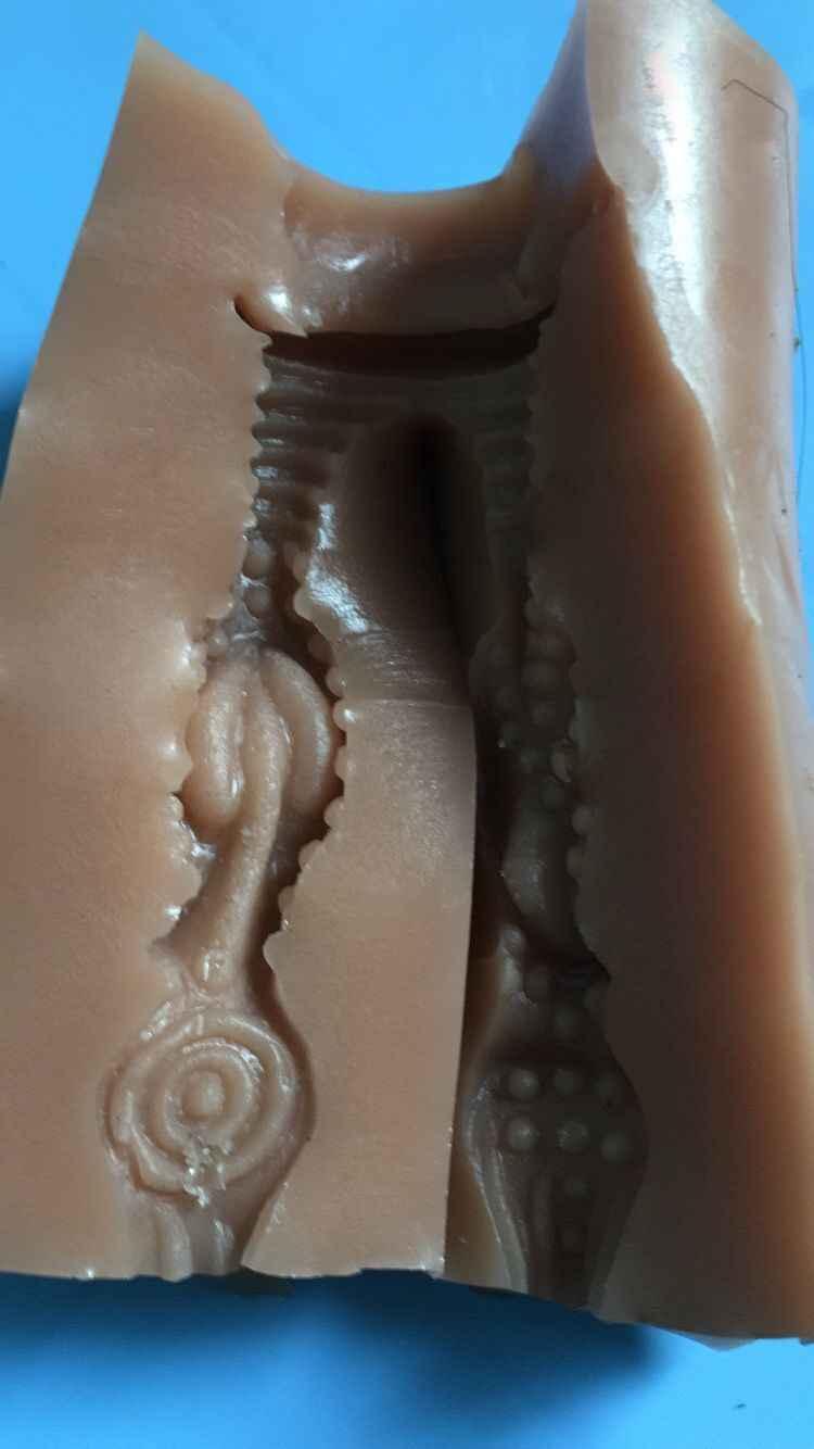 A vagina removível do silicone de tpe para a boneca do sexo pode escolher o tamanho interno