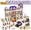 Bela 10547 Friends Heartlake Grand Hotel Andrea Olivia Stephanie Building Blocks Bricks Toy Children Gifts Friends