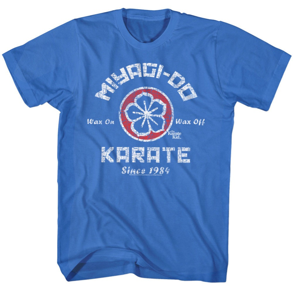 2018 Летний стиль karate kid официальный футболка Мужские фильм Даниэль laruso mr Мияги Размеры SM-5XL хип-хоп повседневная одежда