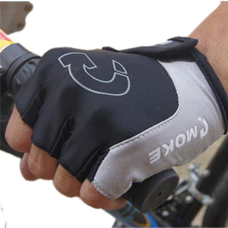 Unisex Cycling Gloves Sports Half Finger Anti Slip Gel Pad Motorcycle MTB Road Bike Gloves S-XL 3 Colors