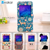 Painted PU Leather Stand Flip 4.7for Samsung Galaxy Alpha Case For Samsung Galaxy Alpha G850F G850 Cell Phone Cover Case