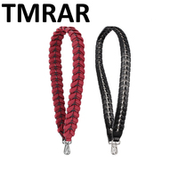 New 2019 Genuine Leather snake knitting handbag belt trendy design bags strap bag parts bag accessory easy matching qn127
