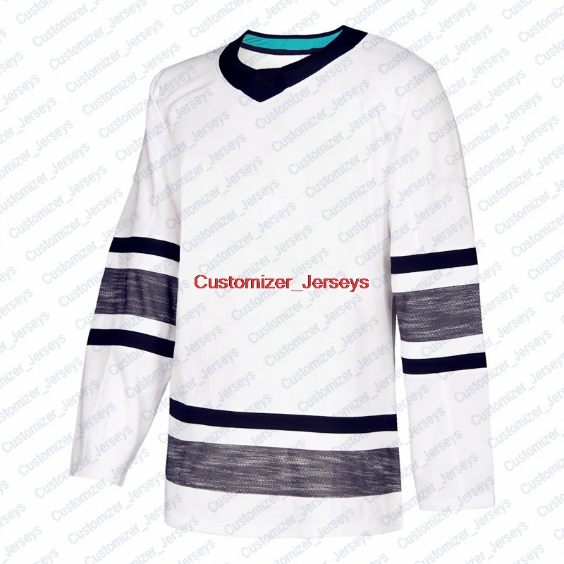 online store 49d8a 08715 US $34.99 |Jack Eichel Auston Matthews Nathan MacKinnon Carey Price Brent  Burns Marc Andre Fleury John Tavares White Hockey All Star Jersey-in ...