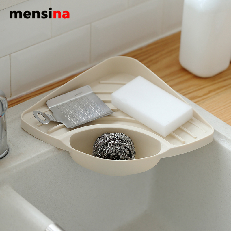 Corner Kitchen Sink Organizers: Mensina New Practical Kitchen Sink Corner Storage Rack