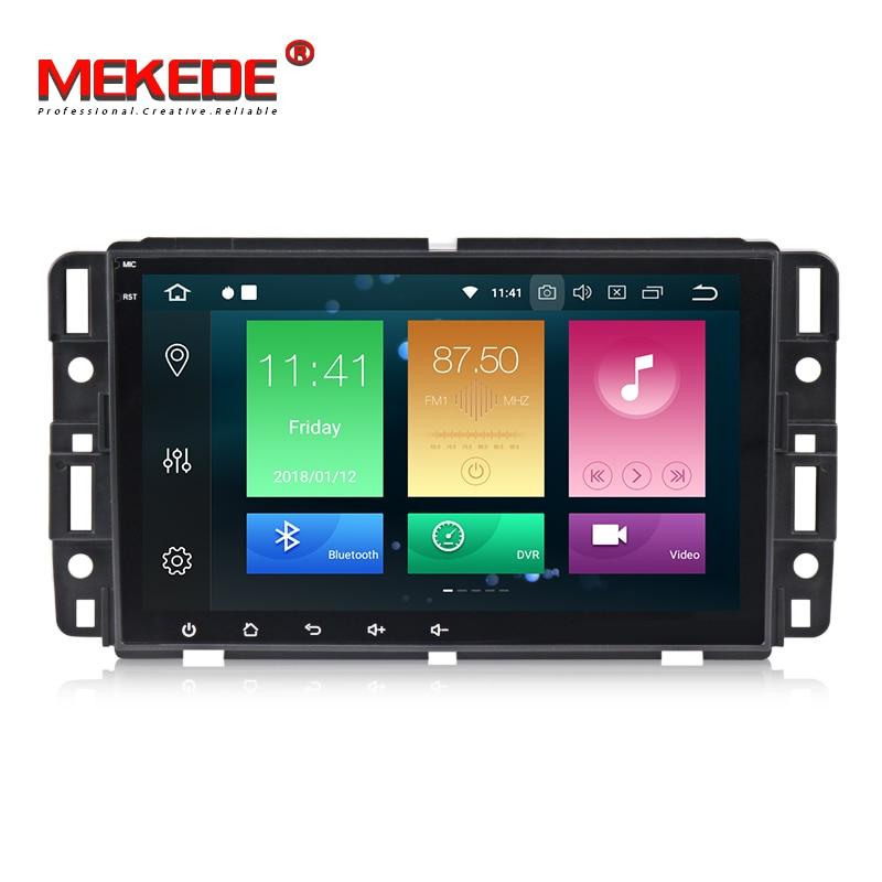 Voiture Multimédia Lecteur PX5 Android 8.0 Voiture GPS radio lecteur Pour GMC/Yukon/Savana/Sierra/Tahoe /Acadia/Chevrolet/Express tête unité
