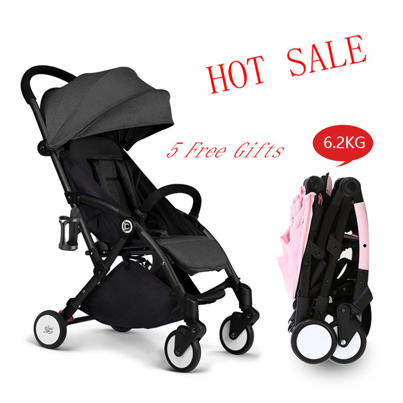 New Travel Lightweight Umbrella Baby Stroller Fold Poussette Bebek Arabas Kinderwagen Super light Folding Baby Stroller