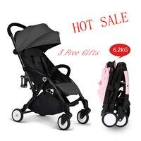 New Travel Lightweight Umbrella Baby Stroller Fold Poussette Bebek Arabas Kinderwagen Super light Folding Baby Stroller
