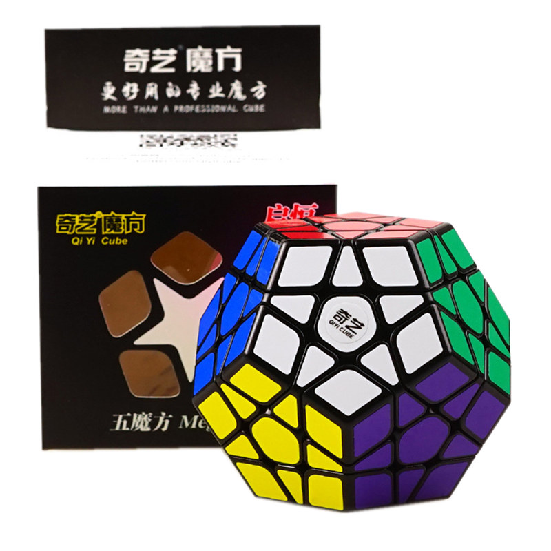 QIYI 3X3 Megaminxeds Magic Cube Black White Speed Professional 12 Sides Puzzle Cubo Magico Educational Toys For ChildrenQIYI 3X3 Megaminxeds Magic Cube Black White Speed Professional 12 Sides Puzzle Cubo Magico Educational Toys For Children