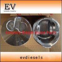 Cilinder Liner Kit Voor Yanmar Diesel 4D94LE Zuiger Zuigerveren En Cilinder Mouw