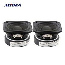 AIYIMA 2Pcs 2นิ้วลำโพงความถี่เต็มรูปแบบ55มม.4โอห์ม10 20Wลำโพงเสียงแหลมmidrange BassลำโพงDIY