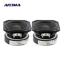 AIYIMA 2Pcs 2 אינץ מלא תדר רמקול 55MM 4 אוהם 10 20W אודיו קול רמקול טרבל בינוני בס רמקול DIY