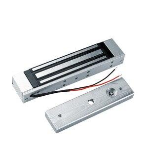 Image 3 - סט שלם של RFID דלת בקרת גישה מערכת ערכת סט עם מנעול RFID לוח מקשים + כוח + מנעול מגנטי + דלת יציאה + מפתחות משלוח חינם