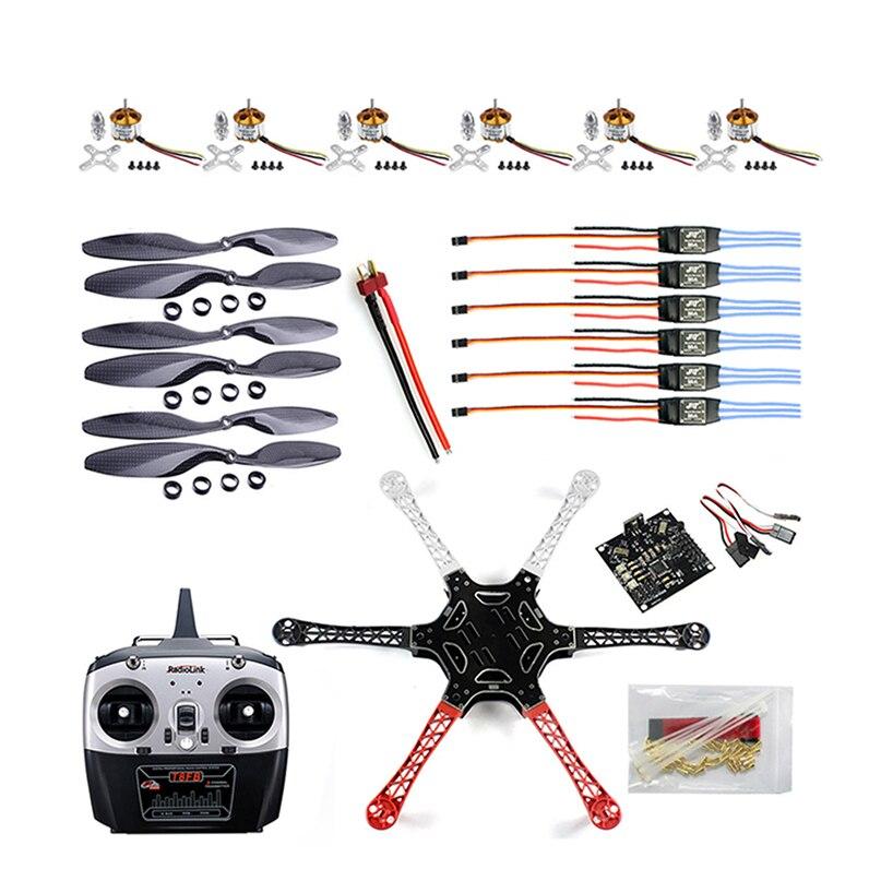 Flamewheel-Kit Drone Propellers Esc-Motor T8fb-Transmitter Heli Carbon-Fiber F550