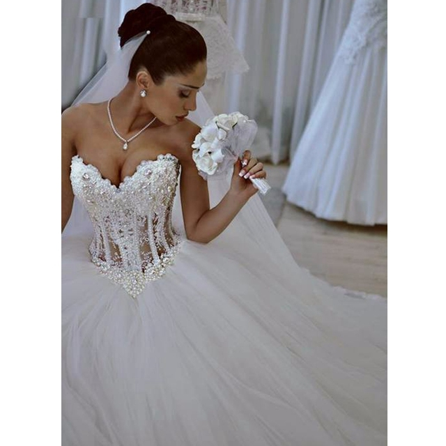 Hermosa Vestido De Boda Del Corsé Del Corsé Ideas Ornamento ...