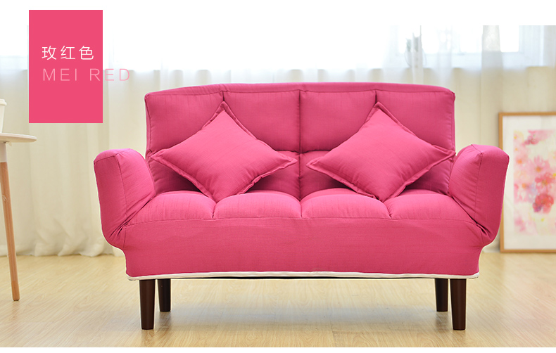 Louis Fashion Lazy sofa leisure sofa simple double bedroom small ...