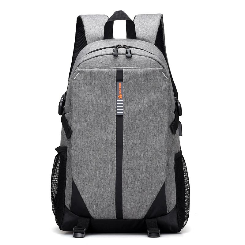 New Backpack Men Women Travel Bag Mens School Laptop Backpacks USB Charging For Teenager Casual Bags