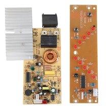1500 Вт 220 В печатная плата PCB с катушкой электромагнитного нагрева панель управления для типа ключа индукционной плиты