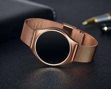 100% Оригинальные M7 Монитор артериального давления умный браслет с Bluetooth 4.0 монитор сердечного ритма круглый сенсорный экран