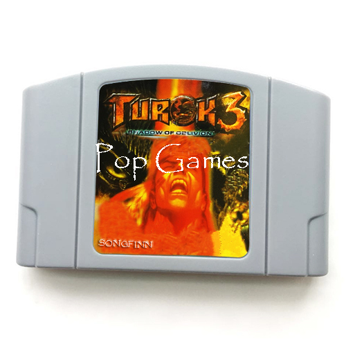 Turok 3 Shadow of Oblivion English Language for 64 bit NTSC Video Game Console