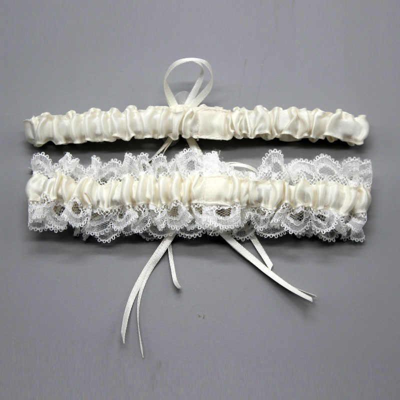 Women's Sexy Lingerie Garter Floral Stretch Lace Bridal Garter Lace Belt Legs Ring Harness Women Wedding Garters bridal