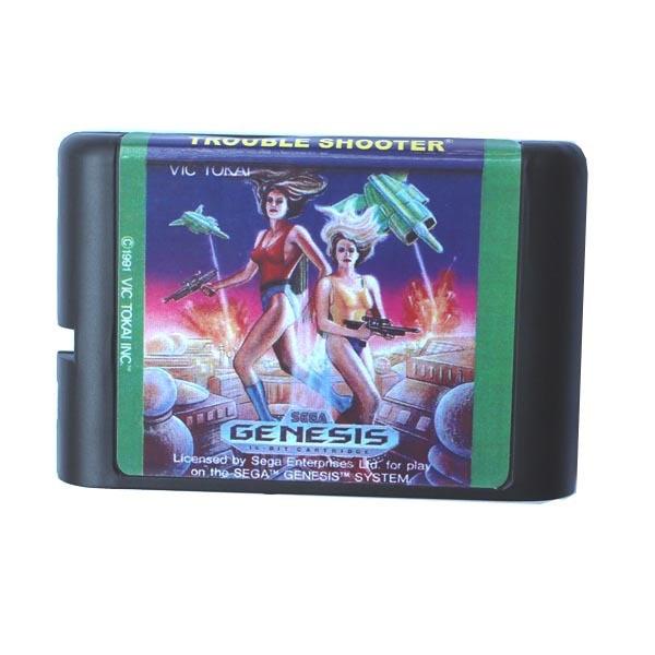 Trouble Shooter 16 bit MD Game Card For Sega Mega Drive For Genesis