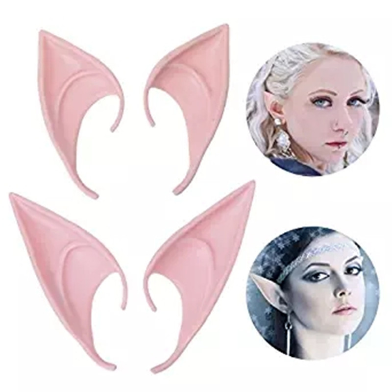 Elf Ears Cartoon Anime Cosplay Plastic Adult Unisex Charm Party Creative Festival Top Gifts Novelty Props Oreja Falsa Halloween Novelty & Special Use Costumes & Accessories
