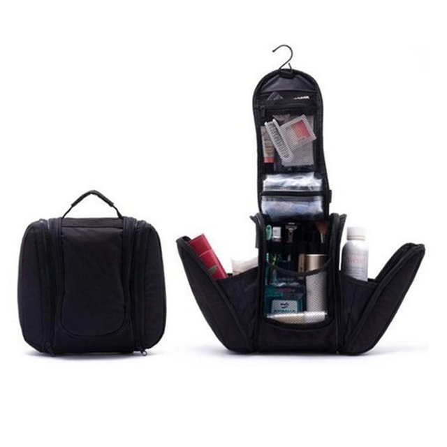 Travel organizer Bag Shaving men Makeup Bag Deluxe Cosmetic Bag neceser maquillaje beauty Toiletry Kit case make up Pouch Holder