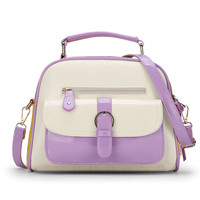 Melodycollection Women Messenger Bag Cute Mini Women Shoulder Bags Top Handle Bags Causal School Dome Satchel