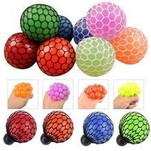 Peradix мягкий сетчатый шарик EDC для снятия напряжения рельефный ручной сенсор забавная игрушка для аутистов
