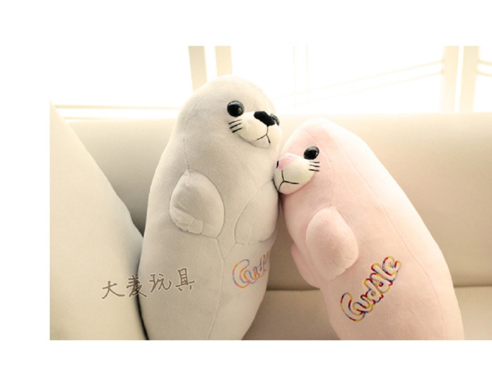 3pcsset 40cm  Aquarium Sea lions plush toy doll doll Children\'s Day gift to send his girlfriend a birthday gift free shipping (6)