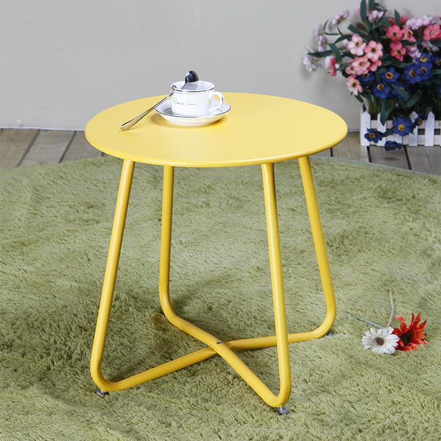 Creative Apartment Living Room Coffee Table Round Table Simple Modern Small Coffee Table Corner Table